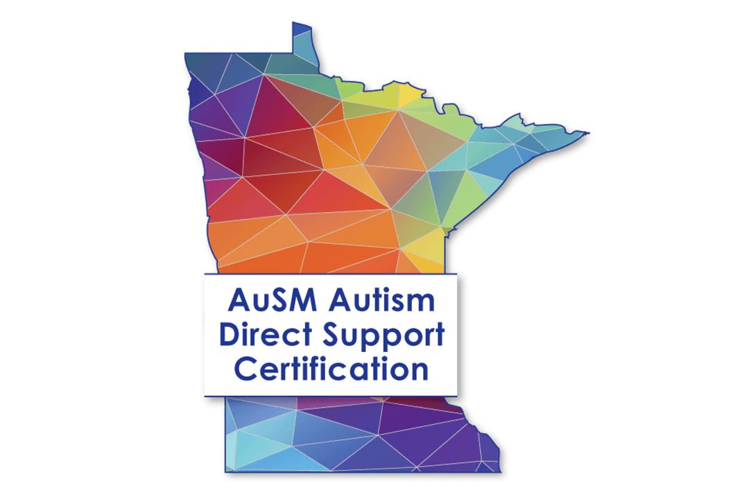 AuSM Autism Direct Support Certification logo